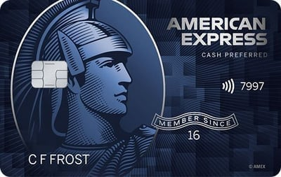 American Express Blue Cash preferential credit card