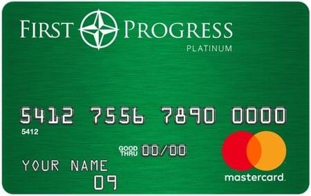 First Progress Platinum Elite Credit Card