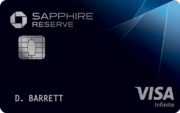 Chase Credit Card Chase Sapphire Reserve