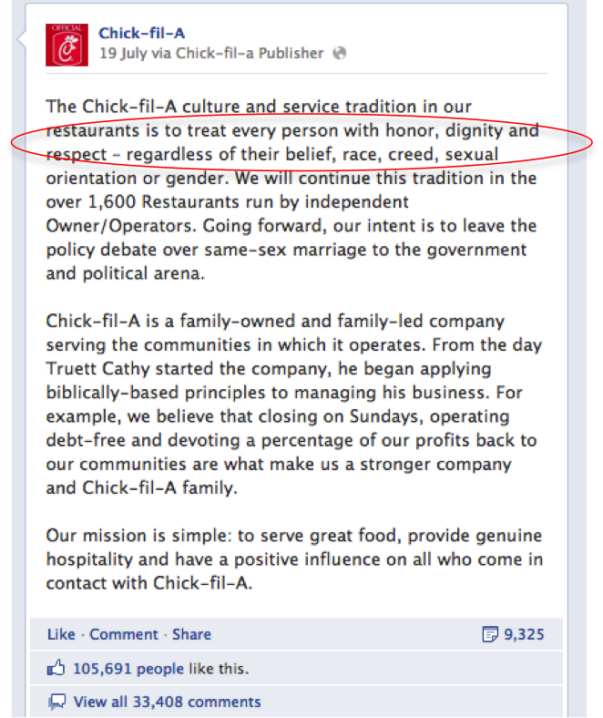 "What does Chick-Fil-A support (other than ""the family"")? A closer ..."