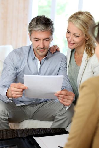 meeting financial adviser