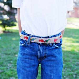 Myself Belt - Dinosaur Belt
