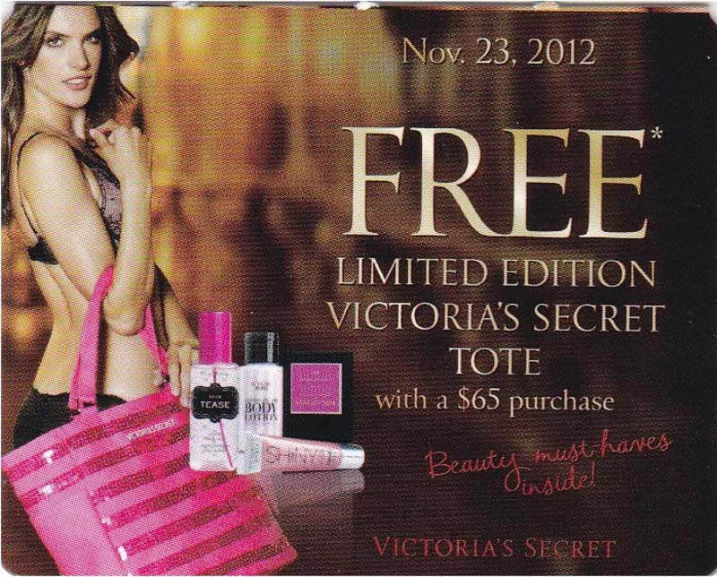7a14ab5c577fb Victoria's Secret Black Friday 2013 Ad - Find the Best Victoria's ...