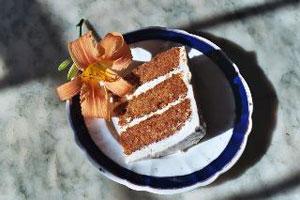 Worlds Best Carrot Cake - Organic