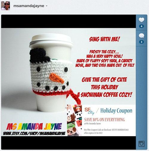 MsAmandaJayne  - Instagram Promotion