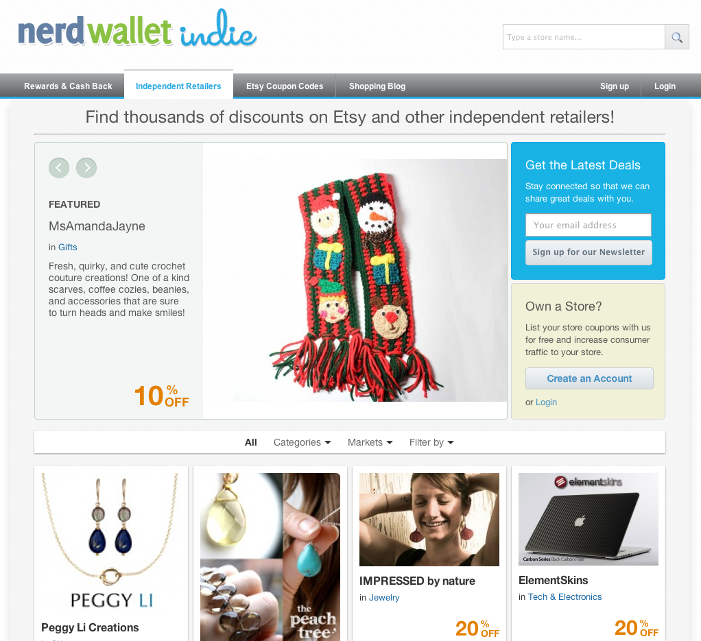 NerdWallet Indie Screenshot