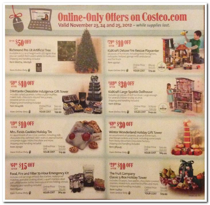 Costco Black Friday Ad Posted With In-Store And Online