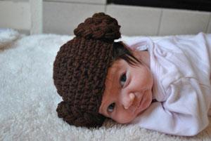 "Baby Princess ""Leia"" Hat By GeekAndGamer"