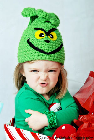 Lime Green Winter Character Hat Bye TheHeadSaid