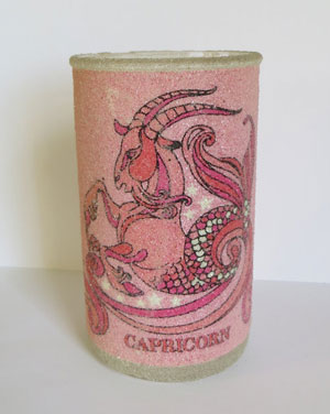 I Prefer Vintage - Capricorn Candle Holder