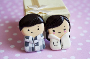 kukishop - Couple Figurines