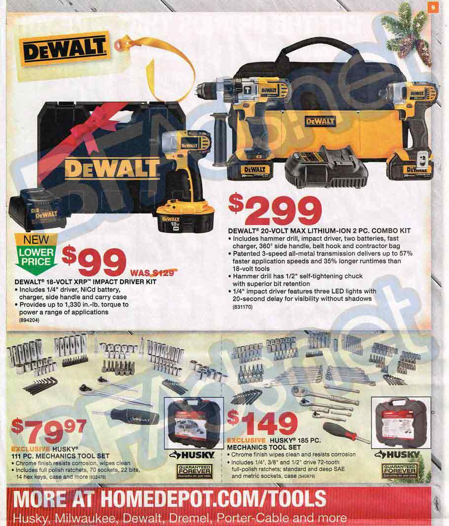 Home Depot Sales Ad