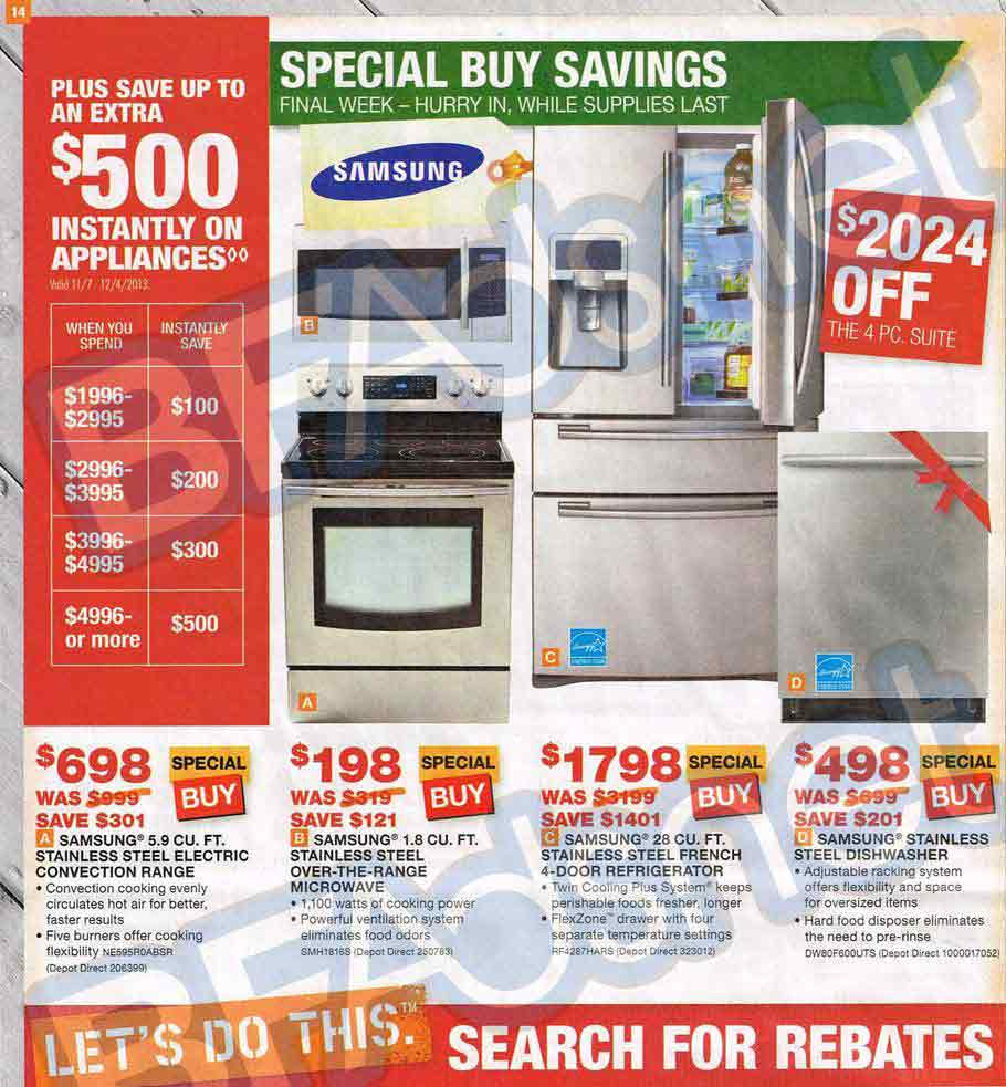 Home Depot Black Friday 2013 Ad
