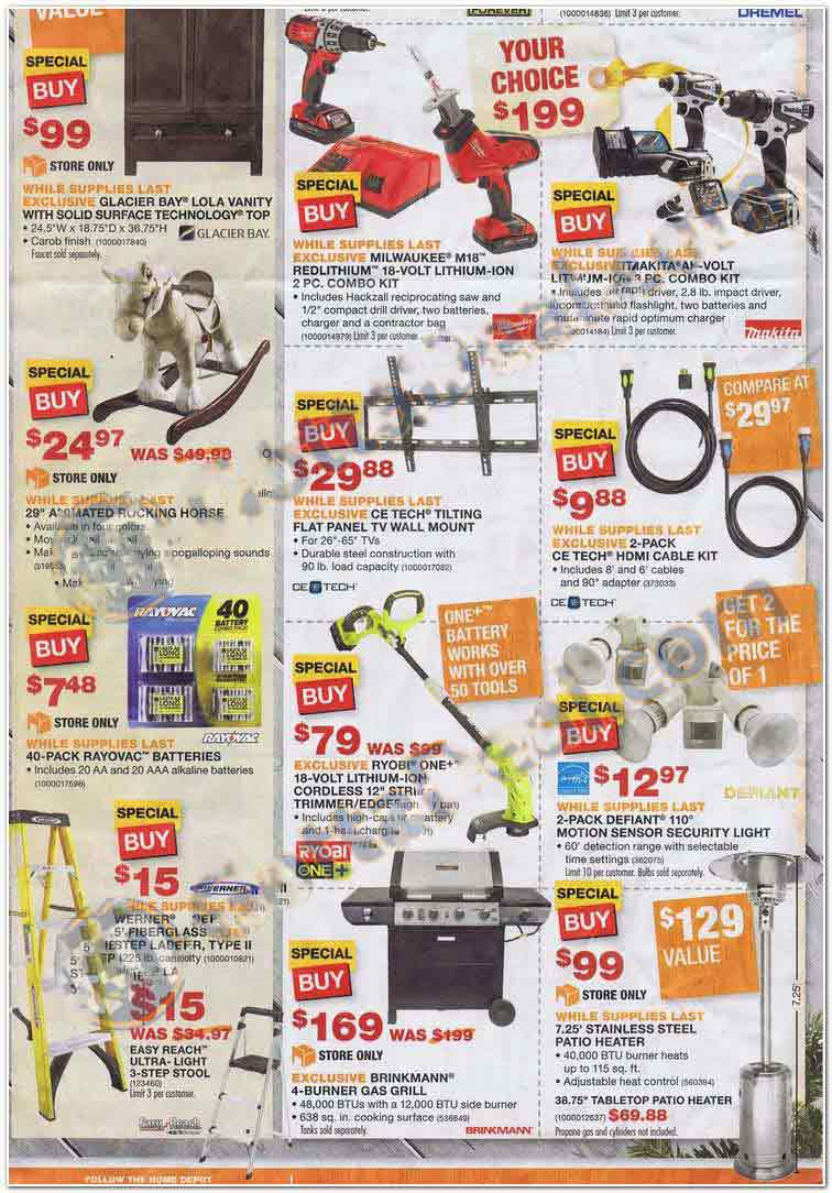 home depot black friday 2013 ad find the best home depot black friday deals and sales nerdwallet. Black Bedroom Furniture Sets. Home Design Ideas