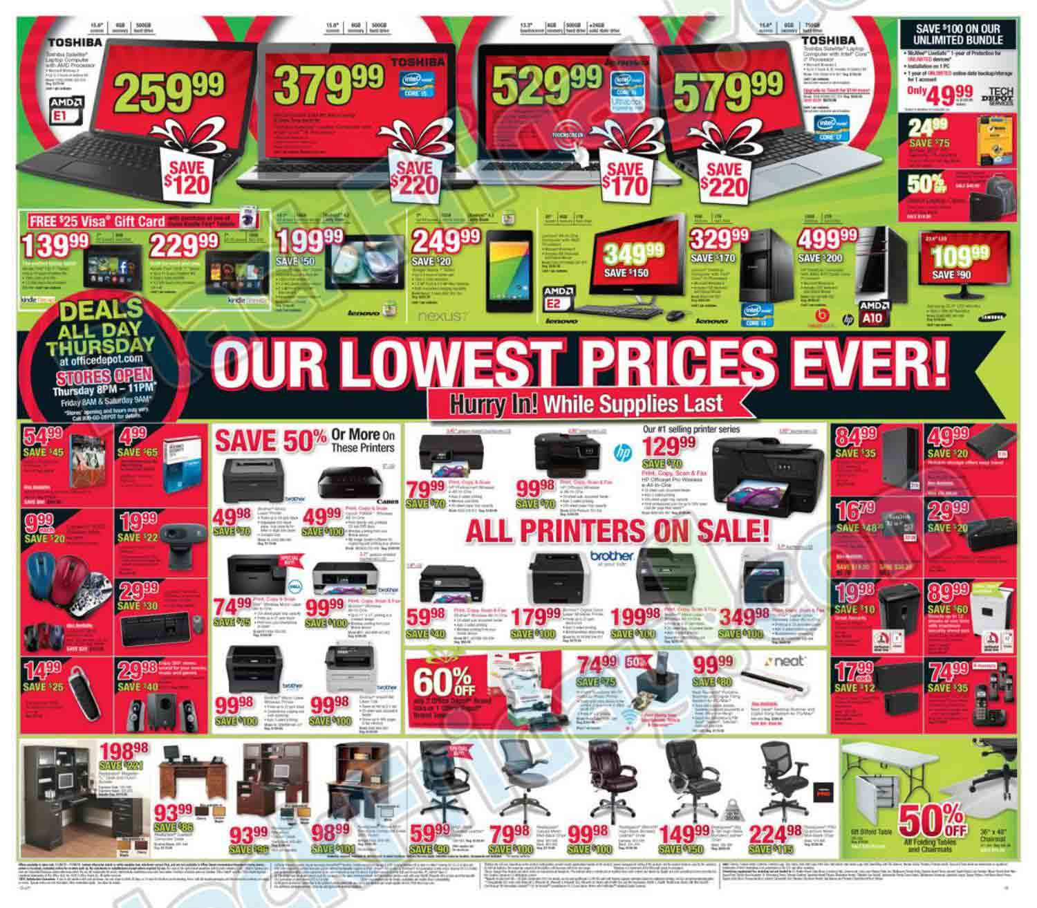fice Depot Black Friday Ad Find the Best fice Depot