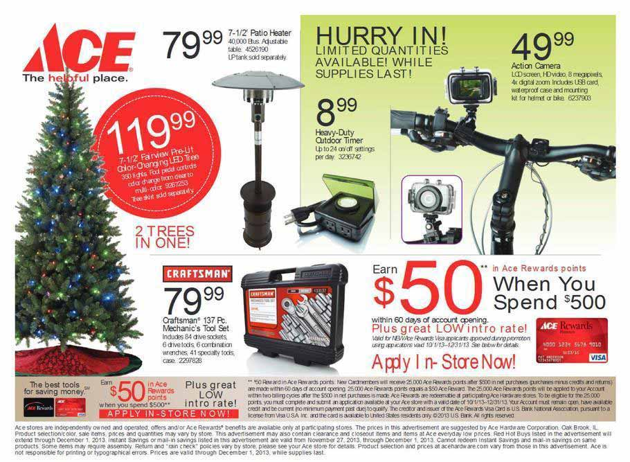 Ace Hardware 2013 Black Friday Ad Scan   Page 7