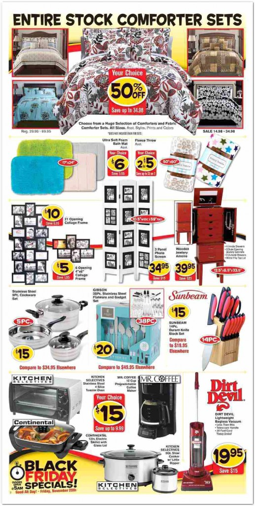 Fred's Super Dollar Black Friday Ad Scan - Page 2