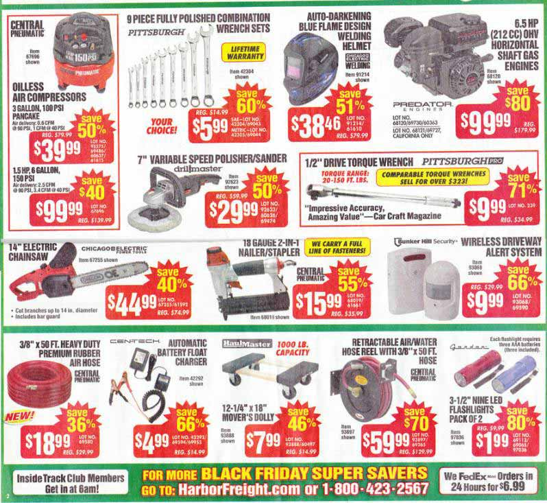 Harbor Freight Black Friday 2013 Ad - Find the Best Harbor Freight