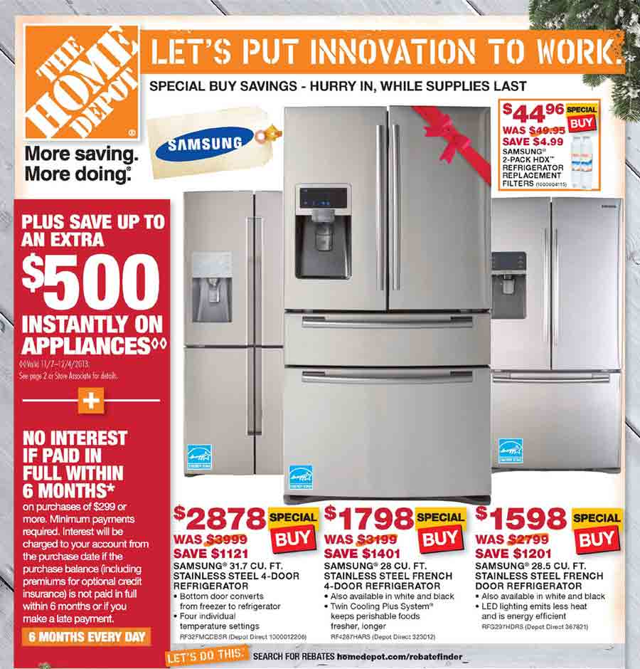 nice Home Depot Kitchen Appliances Sale #2: Full Home Depot ...