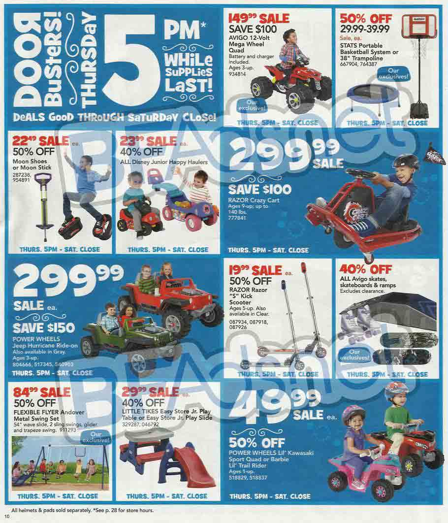 "May The Fourth Be With You Toys R Us: Toys ""R"" Us Black Friday 2013 Ad"