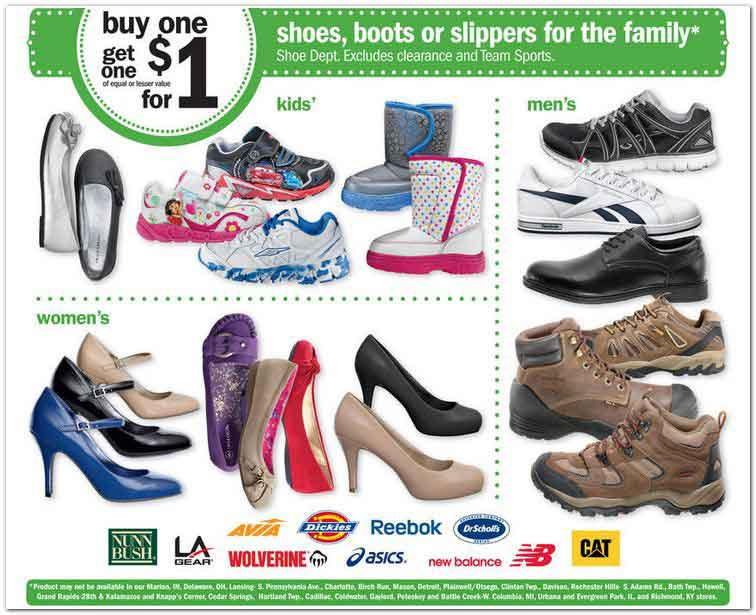 Shoe Department Black Friday Ad