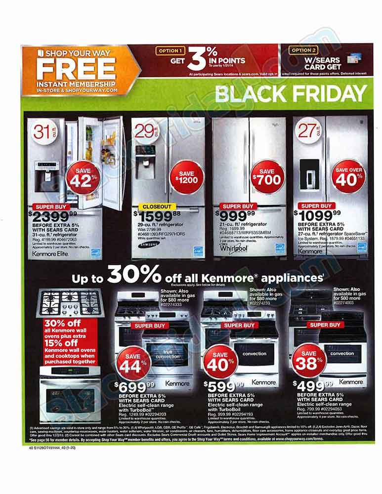 Sears Black Friday 2013 Ad - Find the Best Sears Black Friday ...