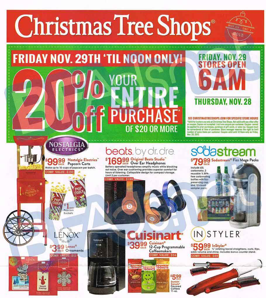 christmas tree shops black friday ad scans - Christmas Tree Black Friday