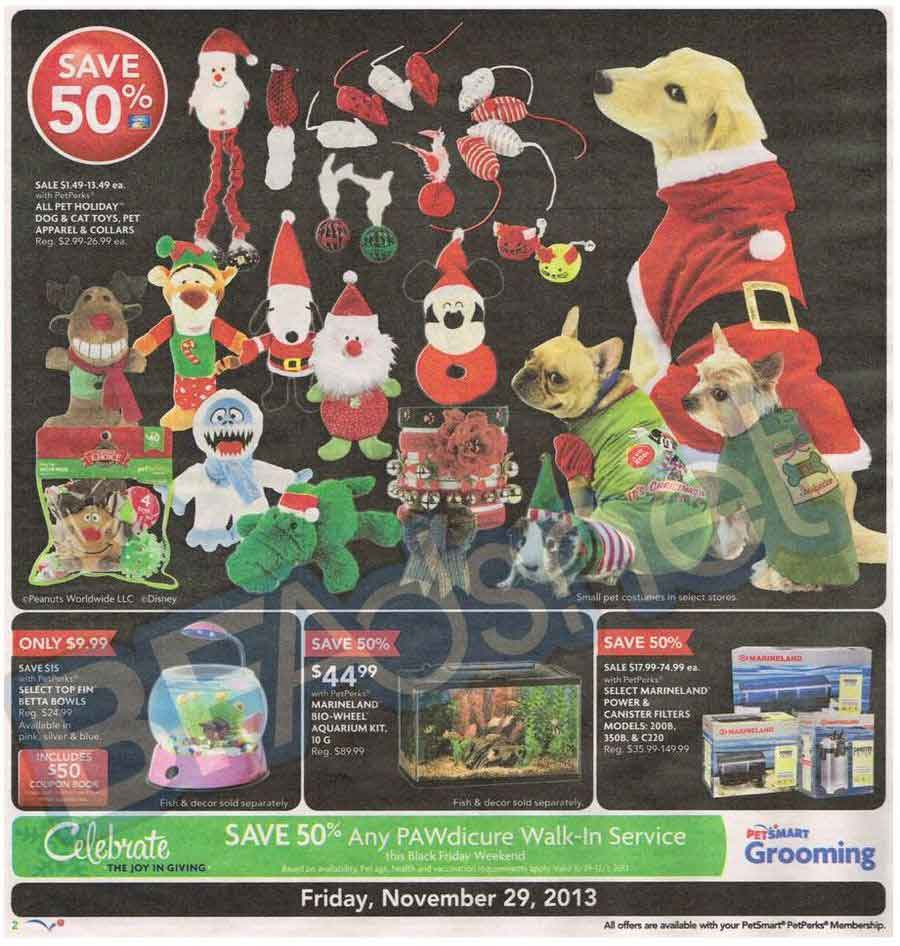 PetSmart Black Friday 2013 Ad - Find the Best PetSmart Black ...