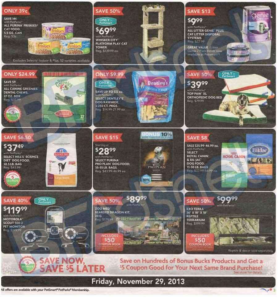 Petsmart Black Friday 2013 Ad Find The Best Petsmart Black Friday Deals And Sales Nerdwallet