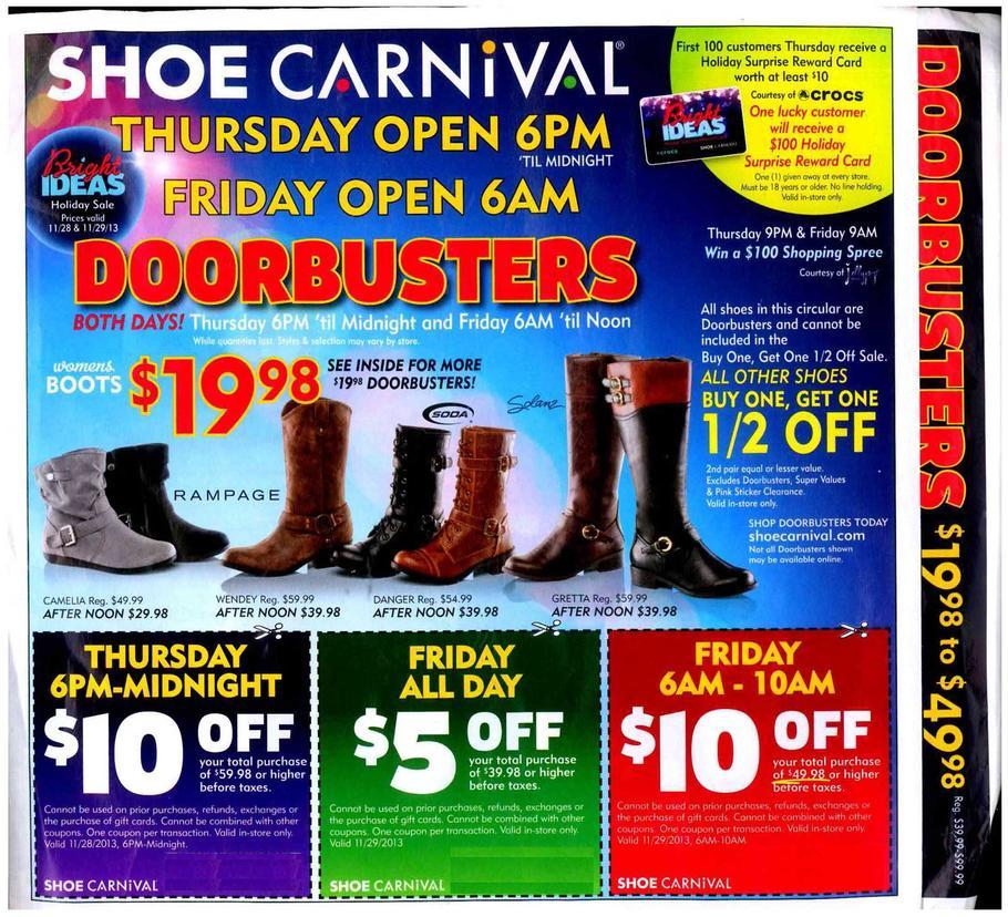 shoe carnival black friday 2013 ad find the best shoe