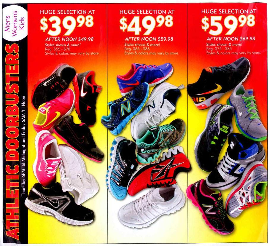 Black Friday Shoe Carnival Coupons