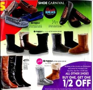 Shoe Carnival Black Friday 2013 Ad