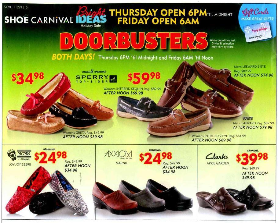 shoe carnival ads
