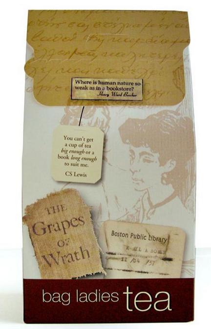 literary teabag