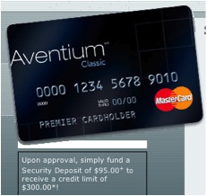 First Premier Aventium security deposit