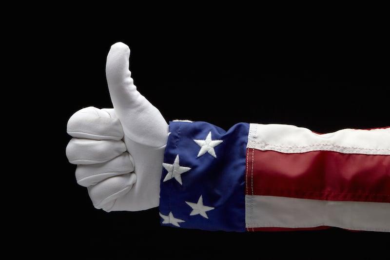Uncle Sam's thumb