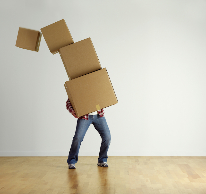 moving hurts your credit score