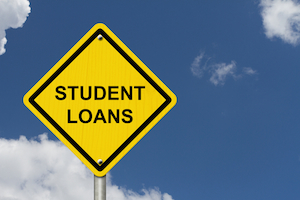 Will a huge amount of student loan debt hurt my credit?