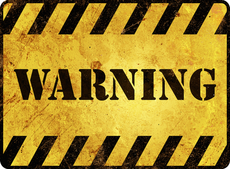 Warning signs credit card trouble