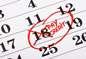 Change a credit card billing due date