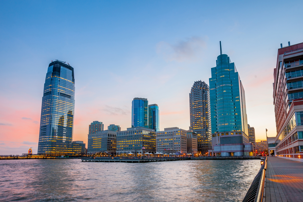cities on the rise in New Jersey