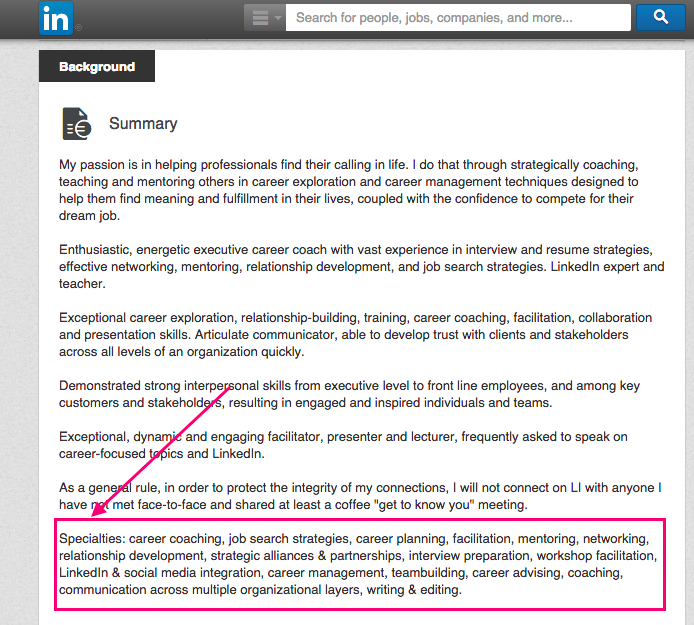 Attractive 5 Steps To A Killer LinkedIn Profile  Find Resumes On Linkedin