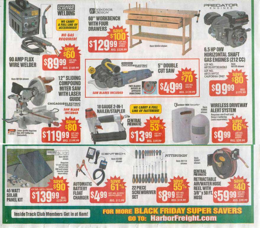Harbor freight black friday 2012 ad released nerdwallet greentooth Images