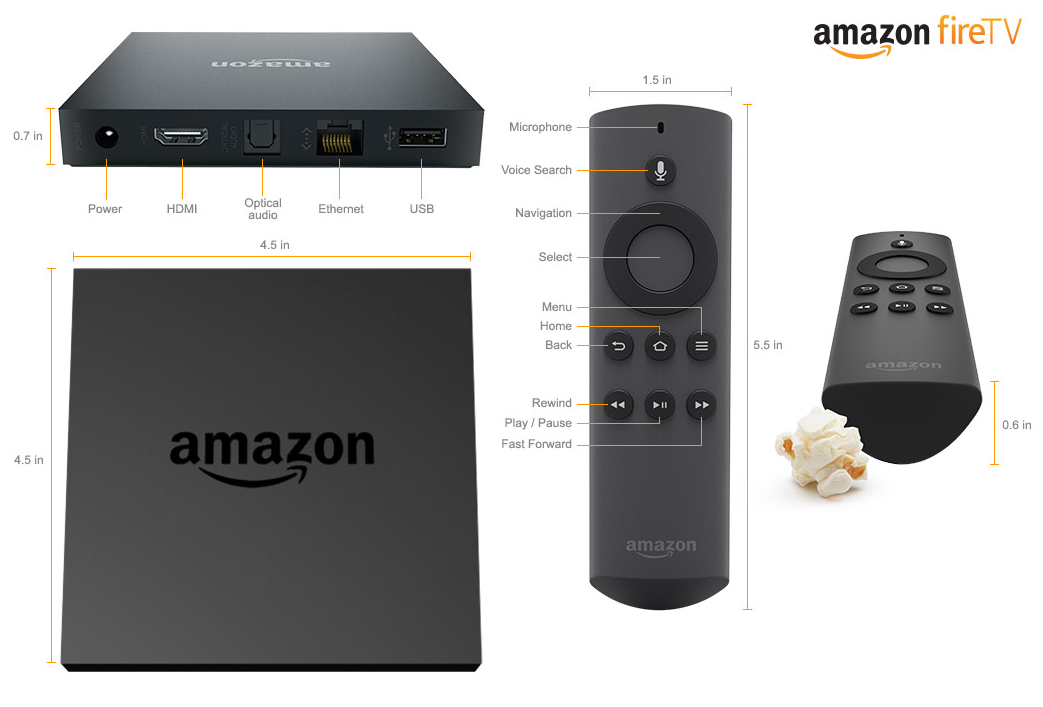 Take $15 off Amazon Fire TV, Fire TV Gaming Edition and Fire