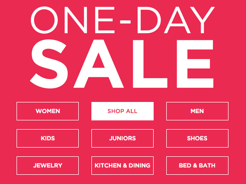 Kohl's Hosts One-Day Sale