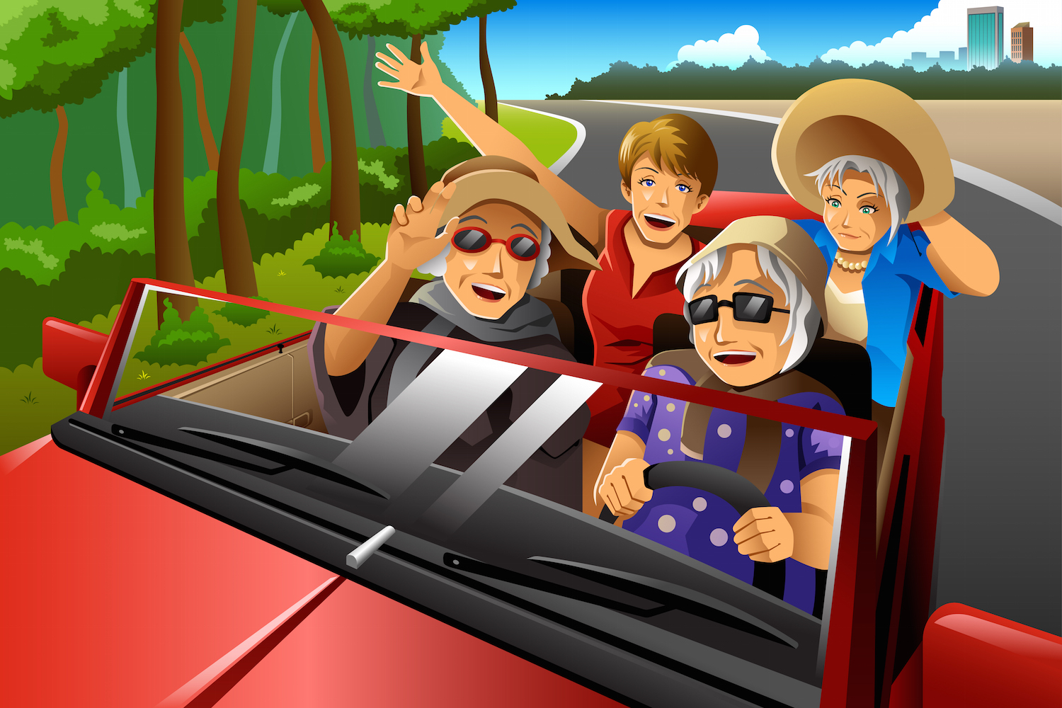 One Nifty Retirement Perk: Lower Auto Insurance Quotes
