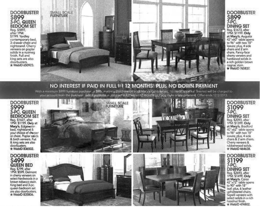 Macy's Black Friday Ad Scan 2013 - Page 16