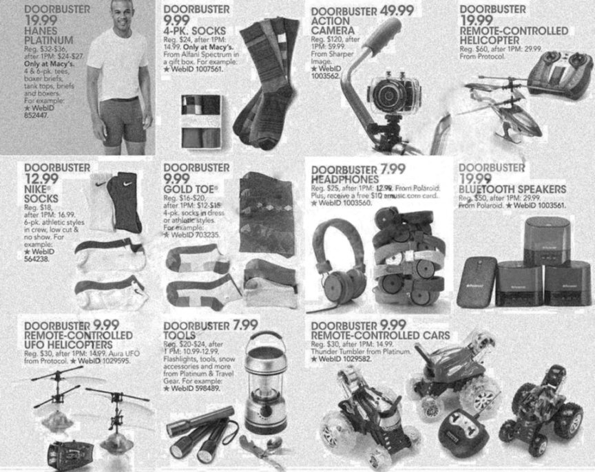 Macy's Black Friday Ad Scan 2013 - Page 25