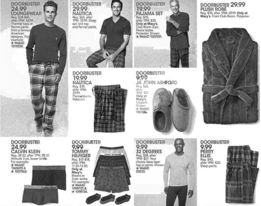 Macy's Black Friday Ad Scan 2013 - Page 27