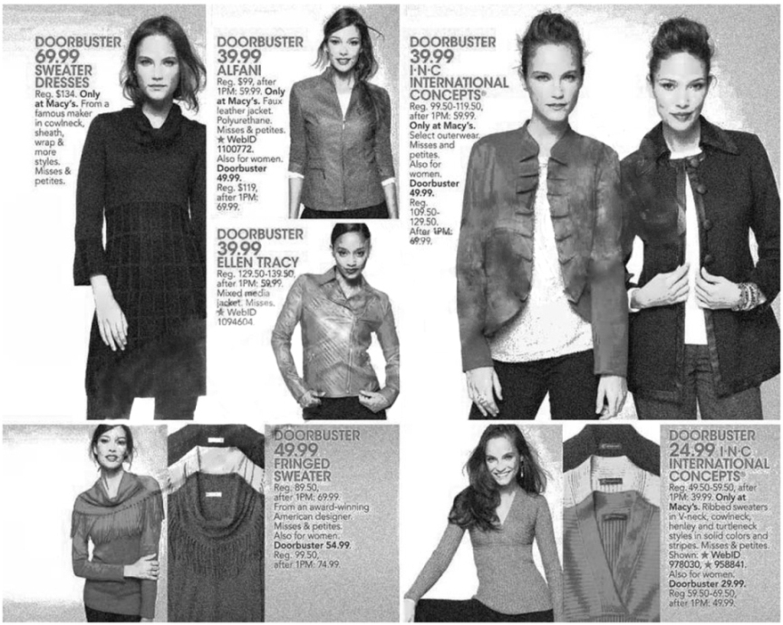 Macy's Black Friday Ad Scan 2013 - Page 38